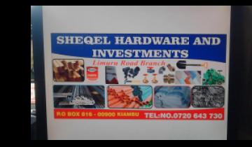 Sheqel Hardwares and Investments Limuru Road